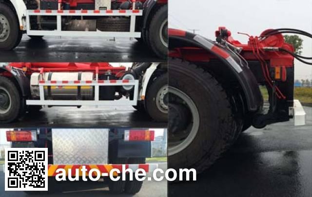 Weichai Senta Jinge YZT5258ZXX detachable body garbage truck