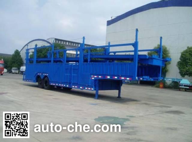 Weichai Senta Jinge YZT9192TCL vehicle transport trailer