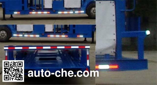 Weichai Senta Jinge YZT9200TCL vehicle transport trailer