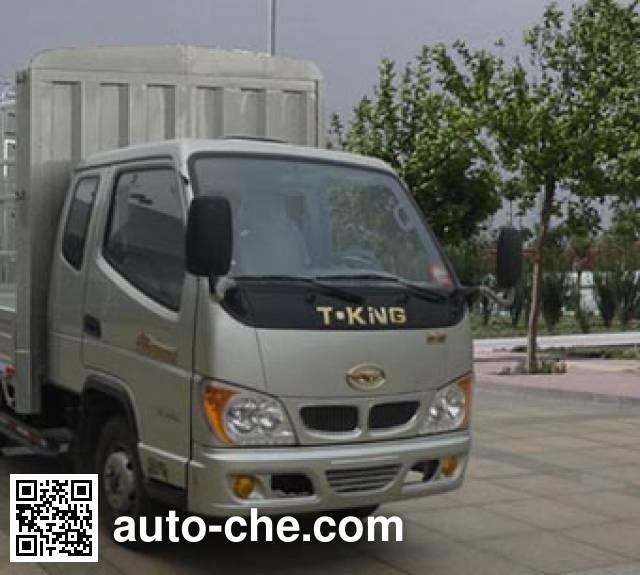 T-King Ouling ZB5040CCYBPC3V грузовик с решетчатым тент-каркасом