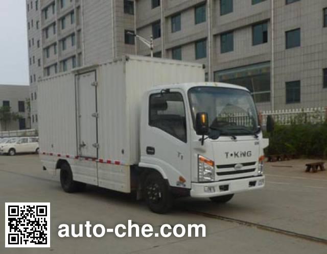 欧铃牌ZB5047XXYBEVKDD6纯电动厢式运输车