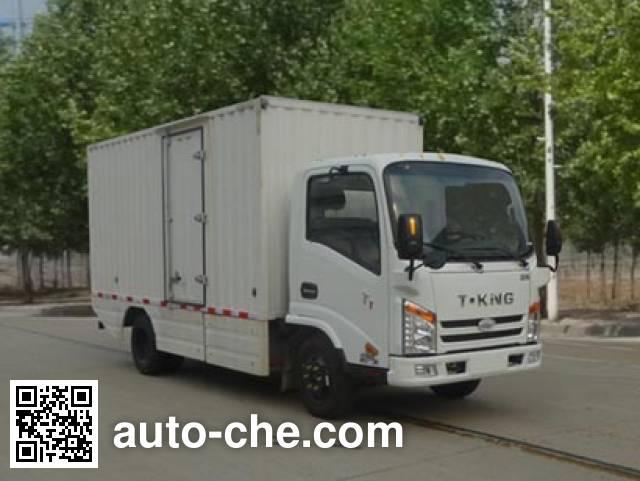 欧铃牌ZB5043XXYBEVKDD6纯电动厢式运输车