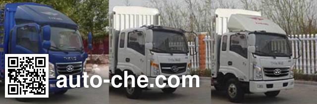 T-King Ouling ZB5046CCYUDD6V грузовик с решетчатым тент-каркасом