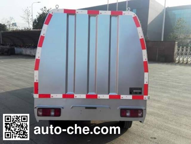 Baoyu ZBJ5021ZZZBEV electric self-loading garbage truck