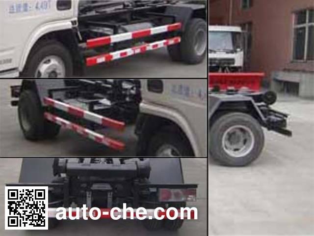 Baoyu ZBJ5040ZXXA detachable body garbage truck
