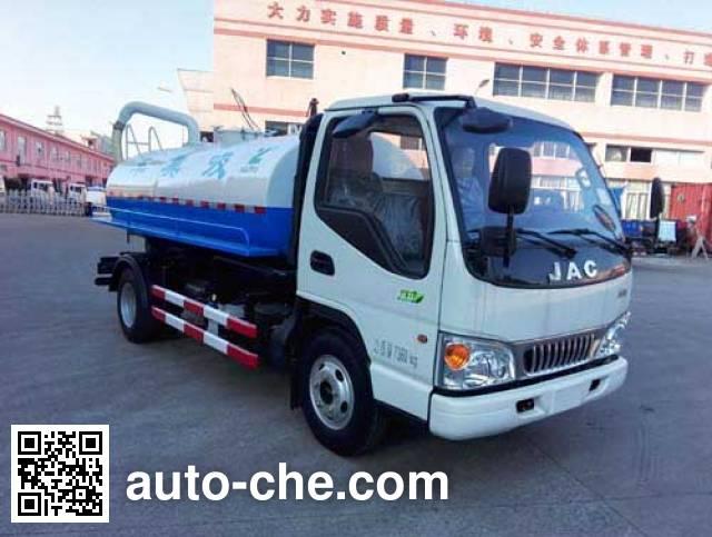 Baoyu ZBJ5070GXEB suction truck