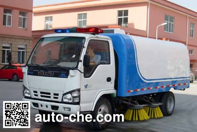 Baoyu ZBJ5070TSL street sweeper truck