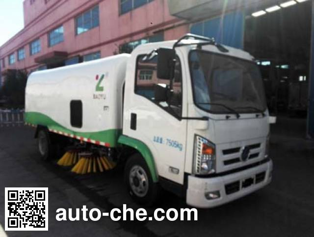 Baoyu ZBJ5080TSLBEV electric street sweeper truck