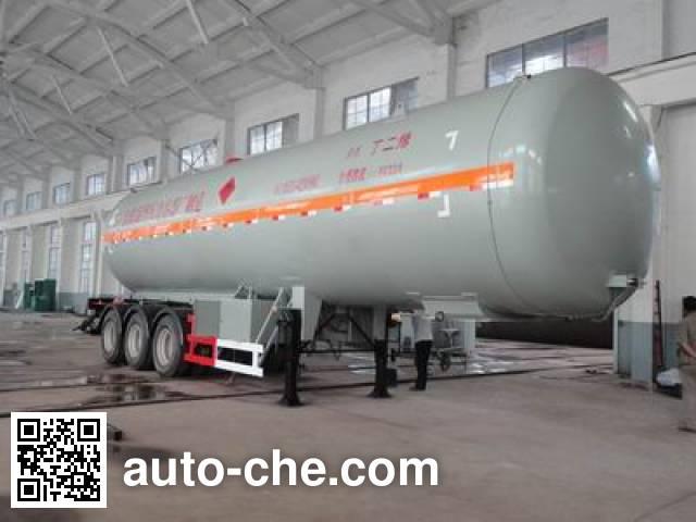 Luzheng ZBR9405GYQ liquefied gas tank trailer