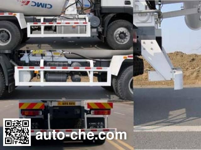 华骏牌ZCZ5250GJBHJCQC混凝土搅拌运输车