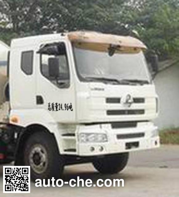 华骏牌ZCZ5250GJBHJLZC混凝土搅拌运输车