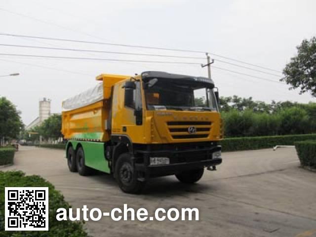 Huajun ZCZ5251ZLJCQE dump garbage truck