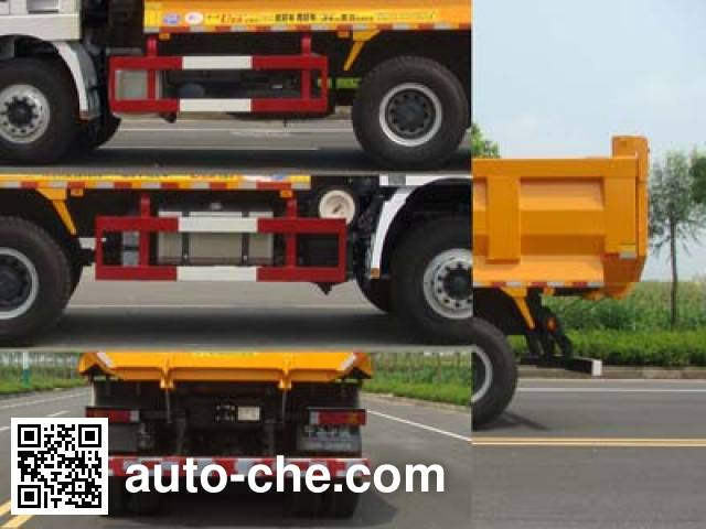 Huajun ZCZ5256ZLJSDE dump garbage truck