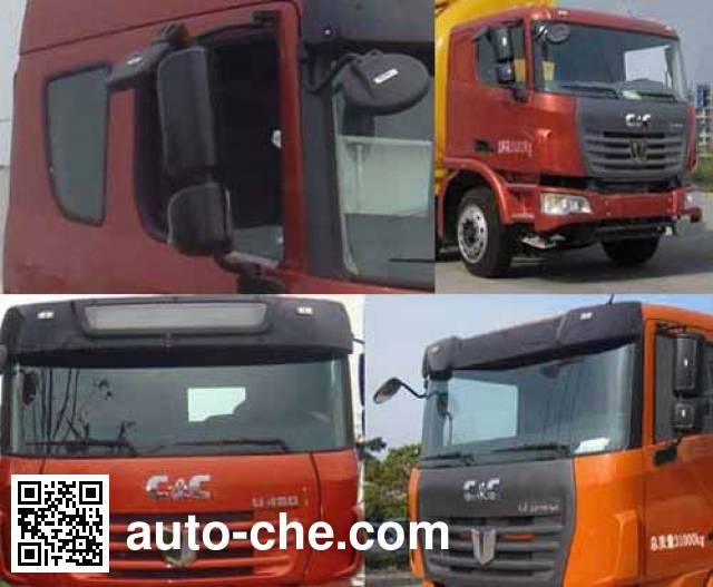 Huajun ZCZ5311GFLSQE low-density bulk powder transport tank truck