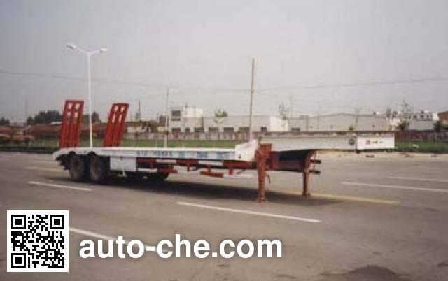 华骏牌ZCZ9230TD低平板半挂车