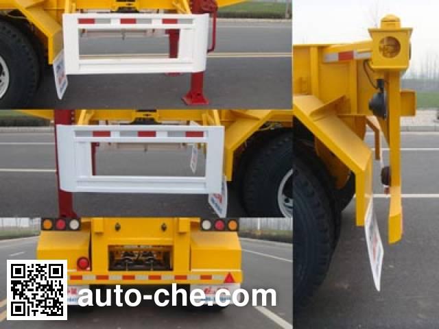 华骏牌ZCZ9350TJZHJD集装箱运输半挂车