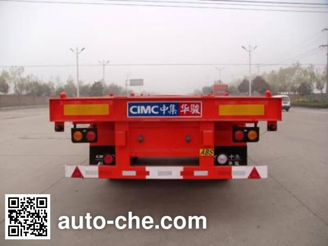 Huajun ZCZ9350TJZHJB container transport trailer