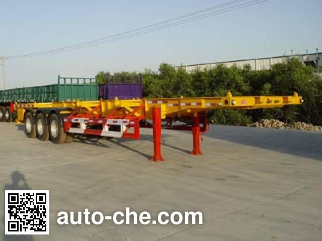 Huajun ZCZ9390TJZ container transport trailer