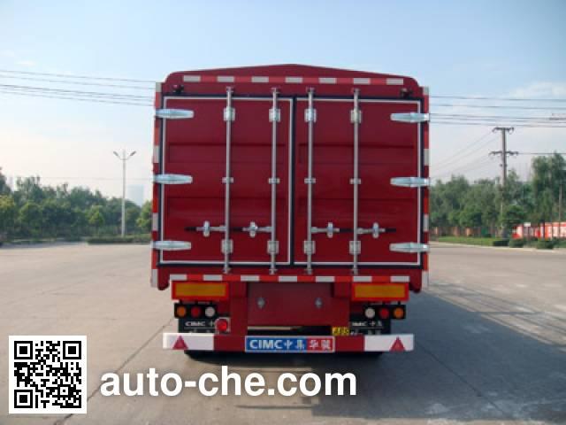Huajun ZCZ9400CCYHJD stake trailer