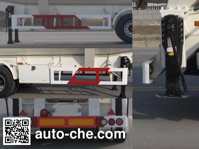 华骏牌ZCZ9400GFLHJF低密度粉粒物料运输半挂车