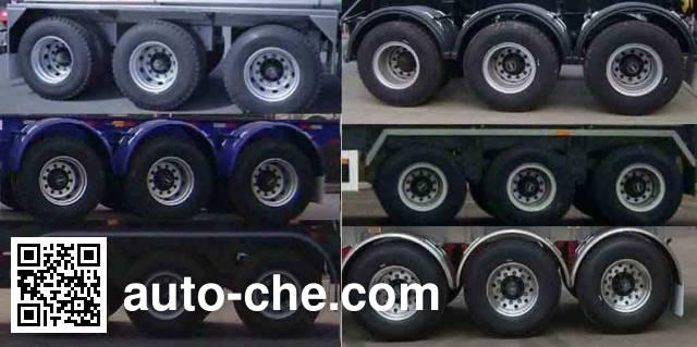 Huajun ZCZ9401GFWHJF corrosive materials transport tank trailer