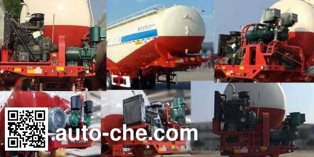 Huajun ZCZ9400GXHHJG ash transport trailer
