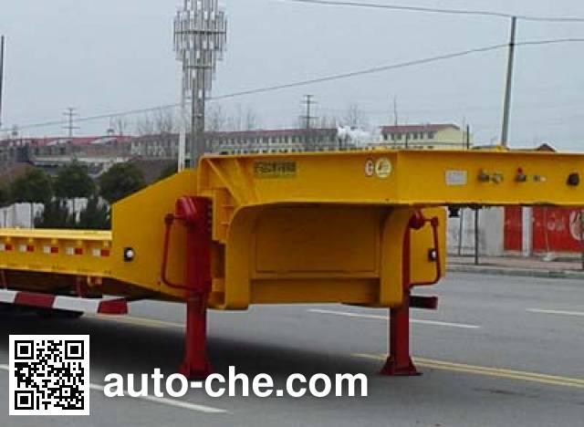 华骏牌ZCZ9341TDPHJA低平板半挂车