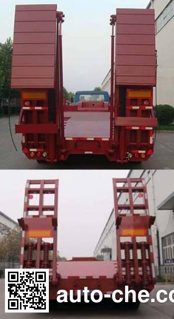 华骏牌ZCZ9400TDPHJA低平板半挂车