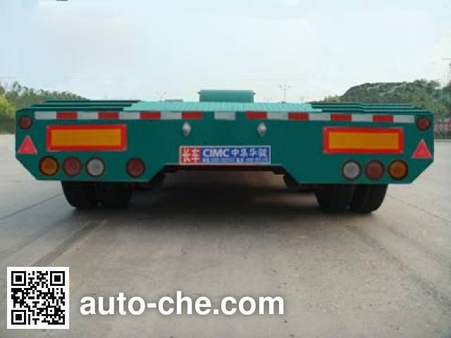 华骏牌ZCZ9400TDPHJD低平板半挂车