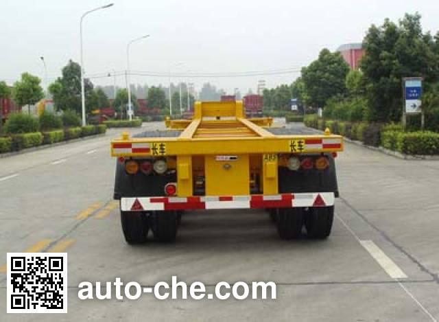 华骏牌ZCZ9400TJZ集装箱运输半挂车