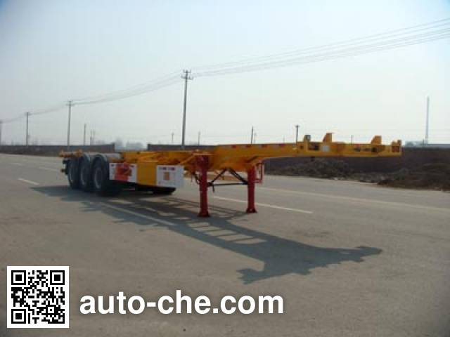 Huajun ZCZ9371TJZHJD container transport trailer