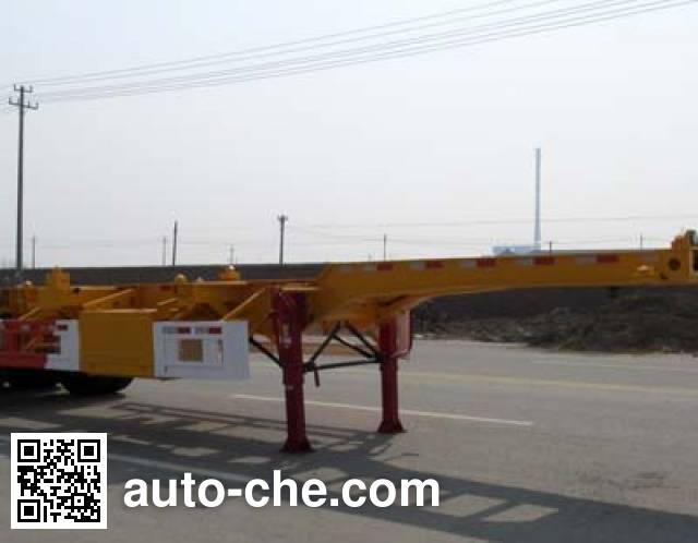 Huajun ZCZ9400TJZHJC container transport trailer