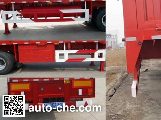 Huajun ZCZ9400TYCHJB timber/pipe transport trailer