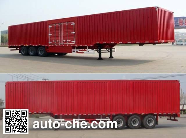 Huajun ZCZ9400XXYHJD box body van trailer