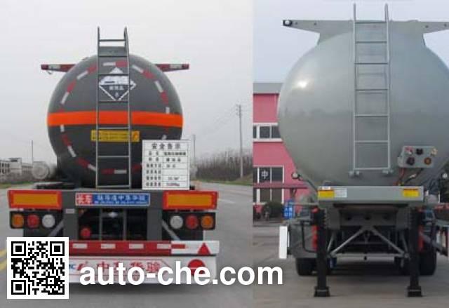 华骏牌ZCZ9401GFWHJF腐蚀性物品罐式运输半挂车