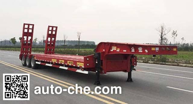 华骏牌ZCZ9401TDPHJG低平板半挂车