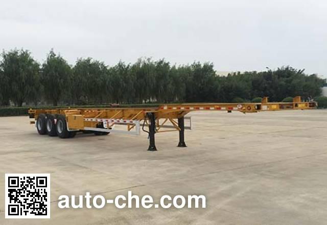 Huajun ZCZ9401TJZHJG container transport trailer