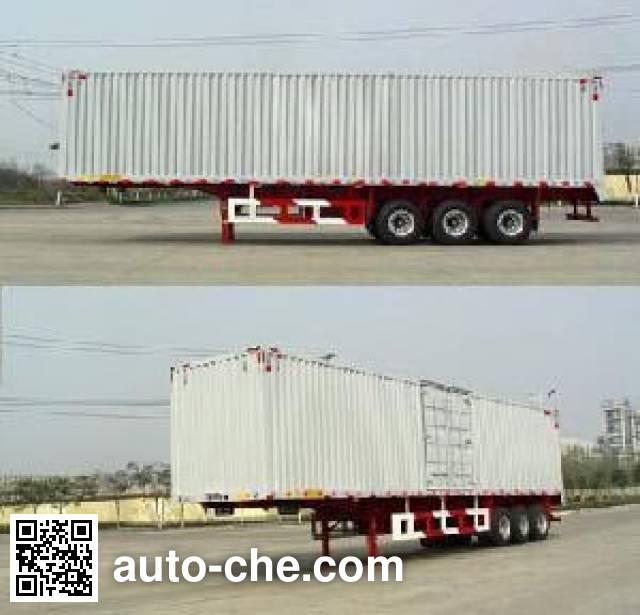 Huajun ZCZ9401XXYHJA box body van trailer