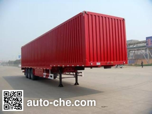 Huajun ZCZ9401XXYHJB box body van trailer