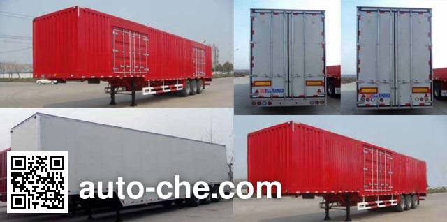 Huajun ZCZ9401XXYHJB box body van trailer