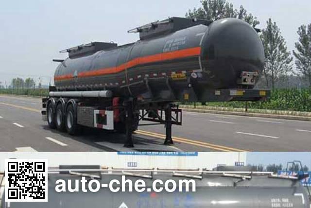 华骏牌ZCZ9402GFWHJF腐蚀性物品罐式运输半挂车