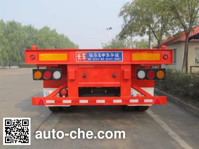 华骏牌ZCZ9350TJZHJC集装箱运输半挂车