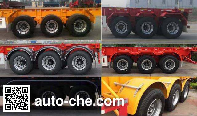Huajun ZCZ9402TJZHJG container transport trailer