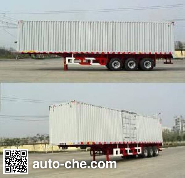 Huajun ZCZ9402XXYHJD box body van trailer