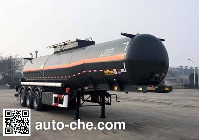 华骏牌ZCZ9403GFWHJF腐蚀性物品罐式运输半挂车