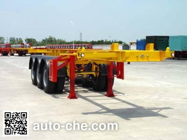 Huajun ZCZ9405TJZ container transport trailer