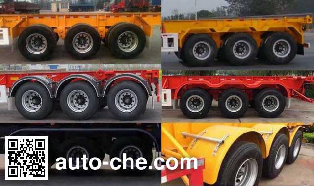 Huajun ZCZ9405TJZHJG container transport trailer