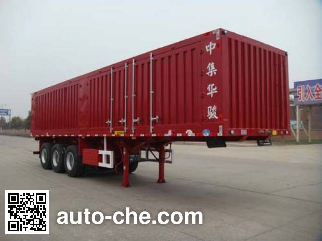 Huajun ZCZ9405XXYHJB box body van trailer