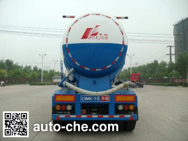 华骏牌ZCZ9406GFLHJB低密度粉粒物料运输半挂车