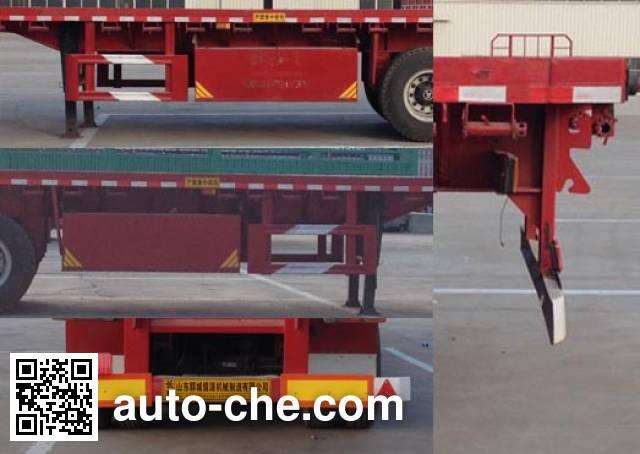 Ruyuan ZDY9400TPB flatbed trailer
